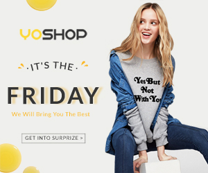 Join our Friday party at yoshop! We will bring you the very best thing! Get the surprise now!