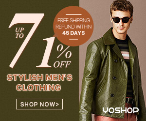 Find your wardrobe staples with our range of men's clothes, perfect for everyday or occasion wear. Enjoy free shipping and up to 71% OFF!