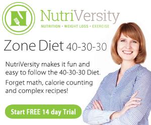 Zone / 40-30-30 Nutrition