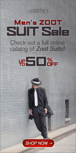Men's Zoot Suit Sale