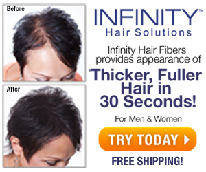 Infinity Hair Fiber - Hair Loss Solution for Women and Men
