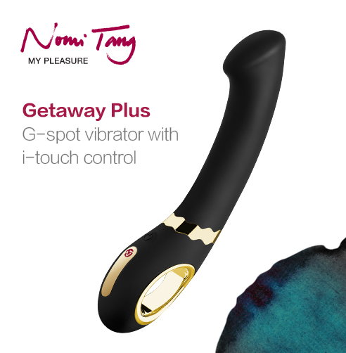 Getaway from Nomi Tang,  powerful and ideal for G spot pleasure