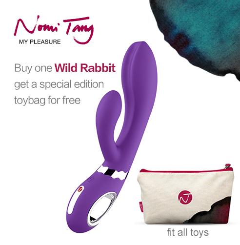 Koupit jeden divoký králík od Nomi Tang, dostanete speciální vydání toybag zdarma