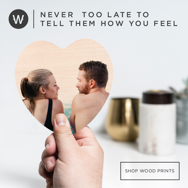 WoodSnap Heart