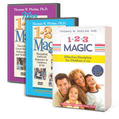 1-2-3 Magic Book and DVD Package
