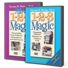 1-2-3 Magic & More 1-2-3 Magic DVD Package (English/Spanish)