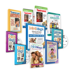 Parenting Toddlers to Teens Complete Book & DVD Library