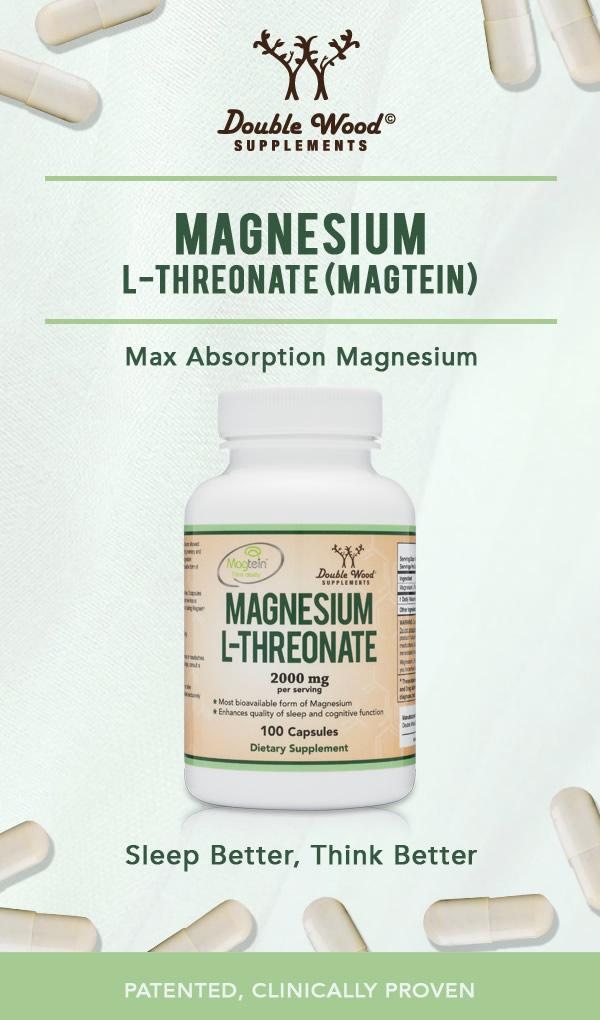 magnesium threonate double wood