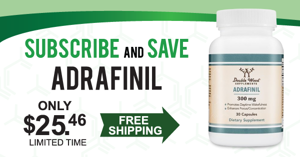 double wood supplements adrafinil