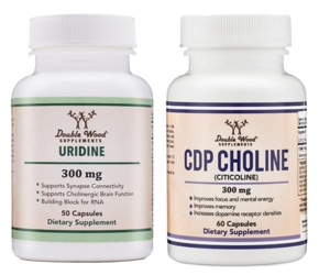 cdp choline, uridine combo double wood, immunity supplements, weight lifting