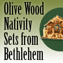 Nativity Sets from the Holy Land - Holy Land Christian Gifts