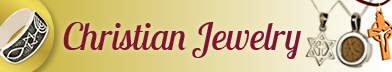 Christian Jewelry from the Holy Land