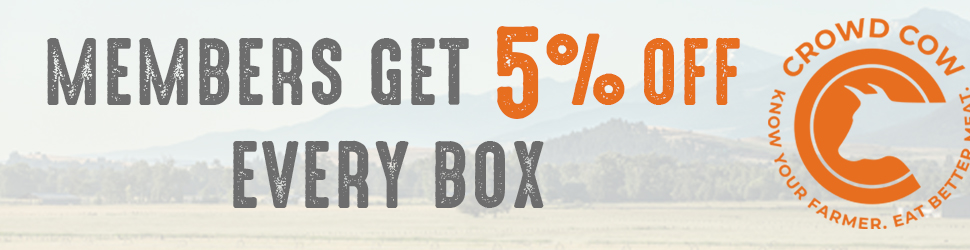 Members Get 5% OFF Every Box