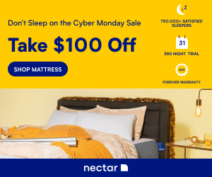 $100 Off Any Nectar Mattress!