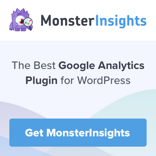 Must-have plugins - Monsterinsights