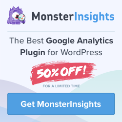 MonsterInsights Discount