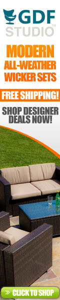 Modern Outdoor Wicker Seating Sets
