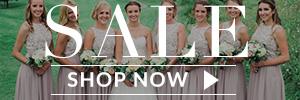 bridesmaid dresses sale banner