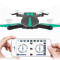Self-Me – Pocket Selfie Drone – 720p w/ 3 Batteries