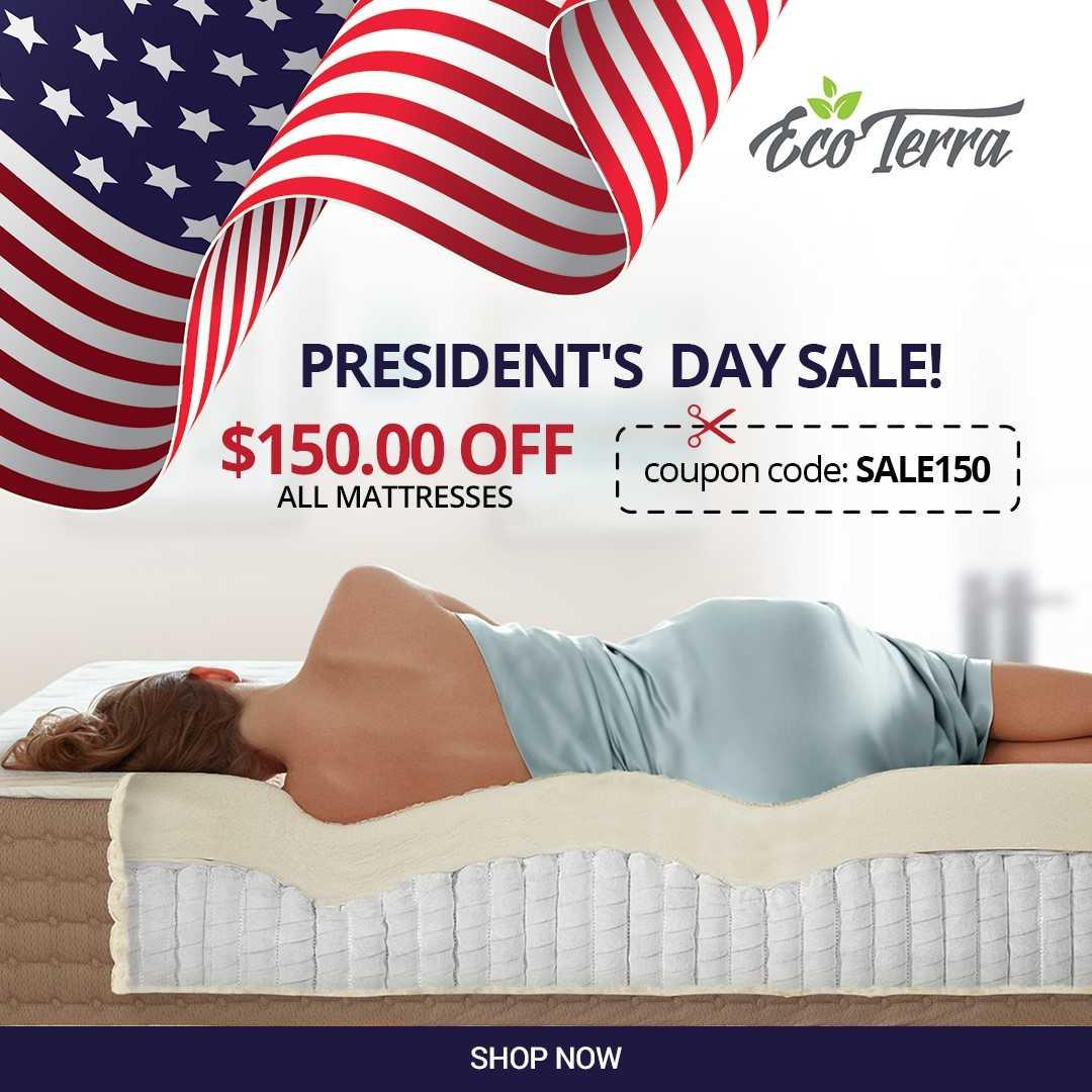 Eco Terra President's Day Sale