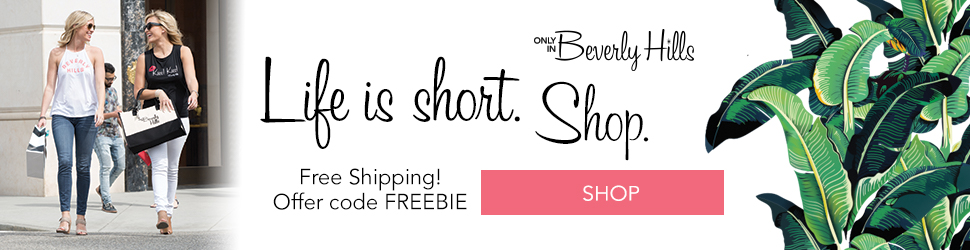 Life is Short. Shop!