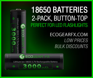 18650 Batteries Button-Top
