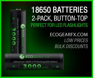 18650 Batteries Button-Top