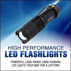 Tactical & Camping LED Flashlights