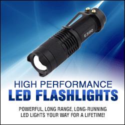 Tactical & Camping LED Flashlights