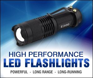 Professional LED Flashlights