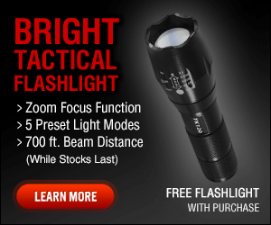TK120 Tactical LED Flashlight