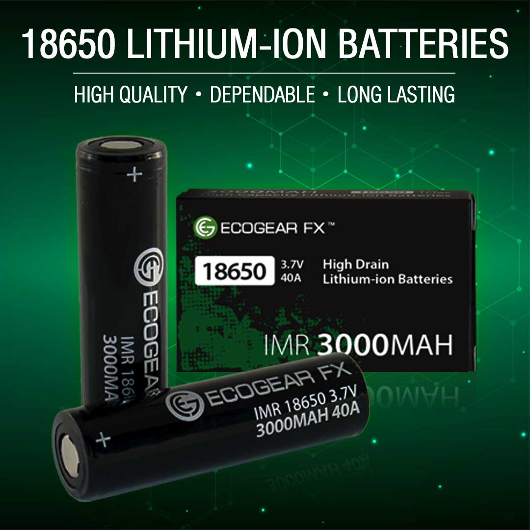 18650 Batteries - Get 10% Off