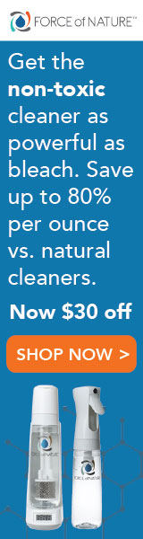 The best all purpose cleaner to eliminate odors: force of nature