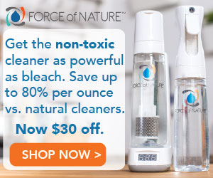 force of nature non toxic cleaner