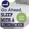 Better Sleep with Linebacker Mattress