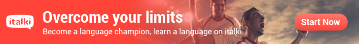 Overcome your limits, learn a language with italki