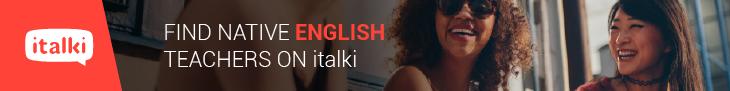 Find Native English Teachers on italki