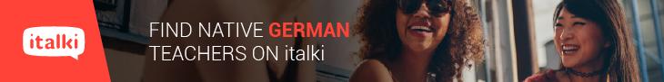 Find Native German Teachers on italki