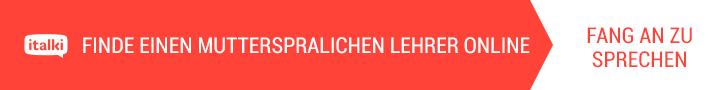 FINDE EINEN MUTTERSPRALICHEN LEHRER ONLINE / FANG AN ZU SPRECHEN