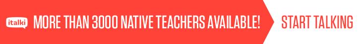 italki: More than 3000 native teachers available!
