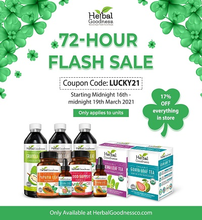 St. Patrick's Day Sale - 17% Off everything in our store