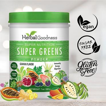 Herbal Goodness Super Greens Powder