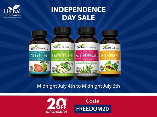 Independence Day Sale by Herbal Goodness