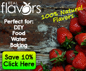 Save 10% on Real Flavors