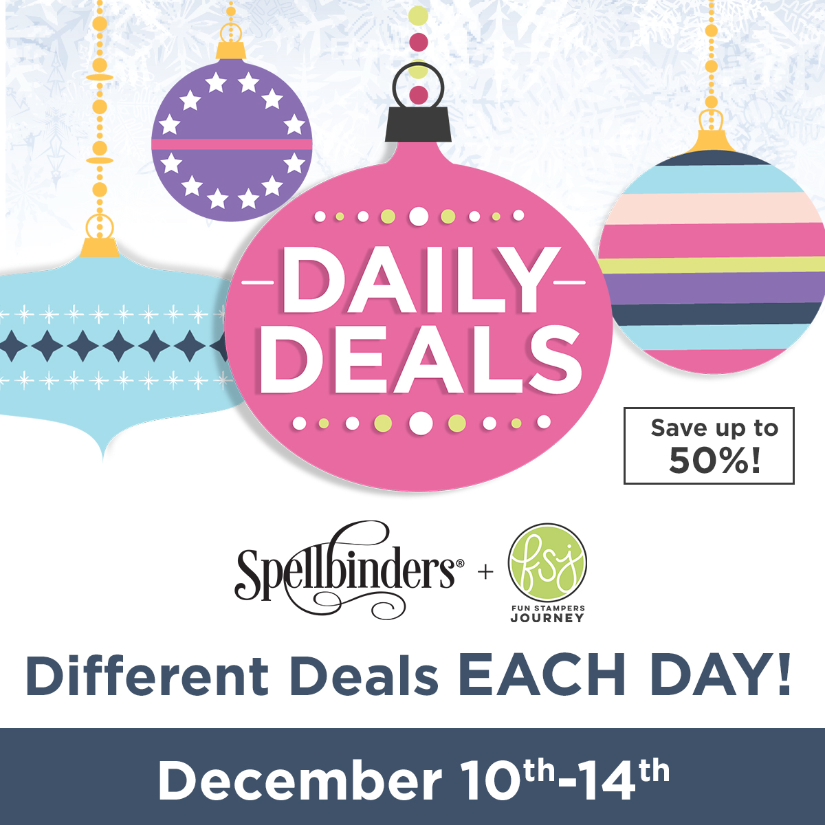 Spellbinders Daily Deals