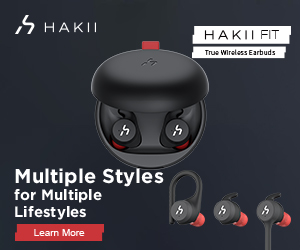 HAKII Fit Wireless Sports Earbuds