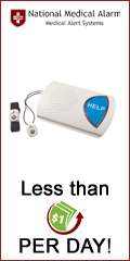 Accidents Happen! Protect your loved one for less than $1/day with National Medical Alarm