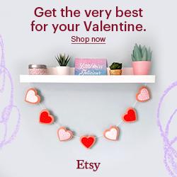 Etsy Valentine Gifts