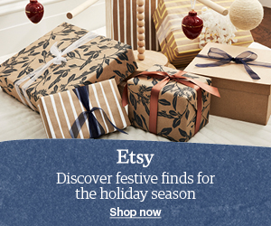 Christmas with ETSY