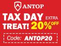 Extra 20% Off on the best selling antennas for TAX DAY TREAT with coupon code: ANTOP20. Cut the Cord and Get Free HDTV Now!